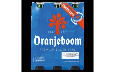 Oranjeboom Premium Lager Beer Bottles 6 x 330ml