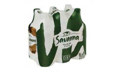 Savanna Dry Cider Bottles 6 x 500ml