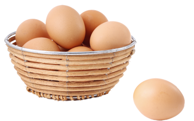 Free Range Eggs  18's