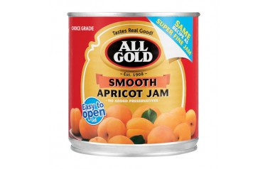 All gold jam apricot super fine 900g