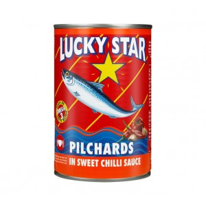 Lucky Star Pilchards in sweet chilli sauce 400g