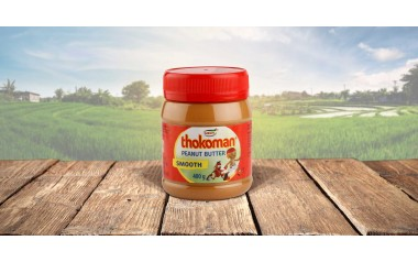 Thokoman Peanut butter smooth 400g