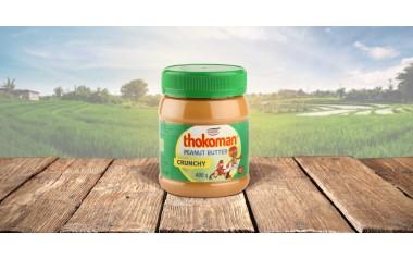 Thokoman peanut butter crunchy 400g